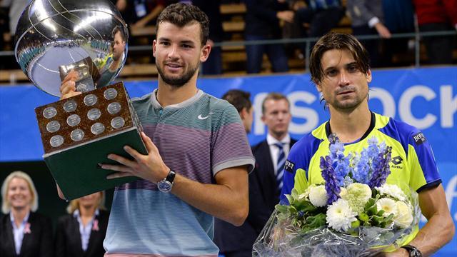 Dimitrov tient sa première couronne