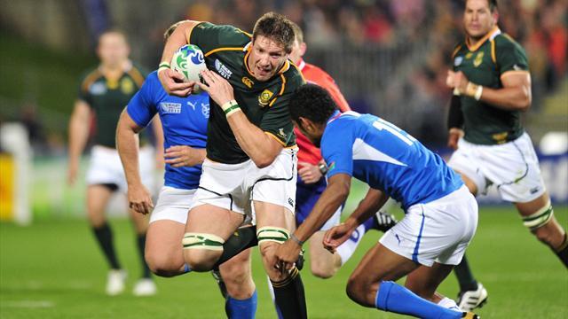 Botha rappelé avec les Springboks