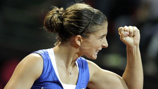 Rio 2016, tennis: Sara Errani battuta dalla russa Kasatkina