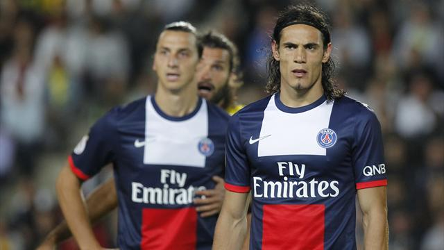 PSG's Cavani and Ibrahimovic doubts for Anderlecht tie