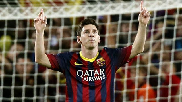 Messi inspires Barcelona to win over Milan - Champions League 2013 ...