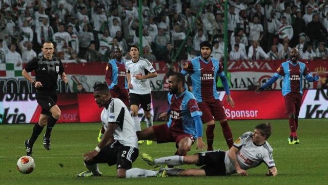 Trabzonspor'un grubunda puan durumu