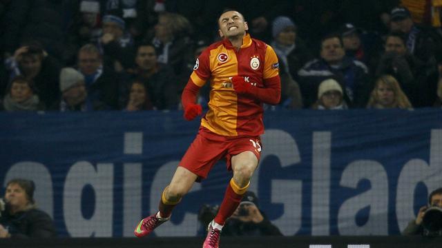 Galatasaray oyuncusu Burak Yılmaz