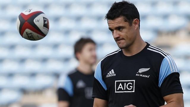 All Blacks fly-half Carter ruled out of final Bledisloe Test