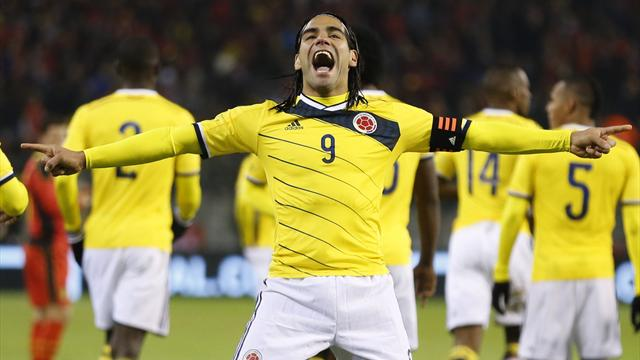 Injured Falcao included in Colombia's 30-man squad