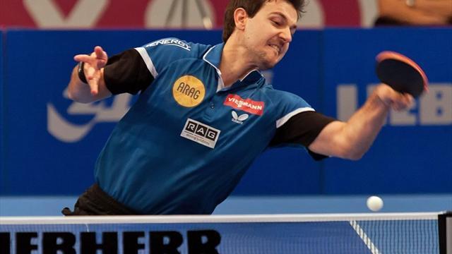 Sieg gegen Ovtcharov: Boll zum sechsten Mal im Weltcup-Finale