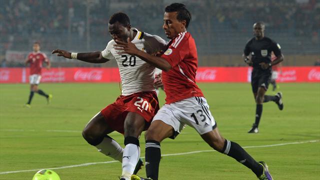 Le Ghana survit à l'orgueil de l'Egypte et verra le Brésil