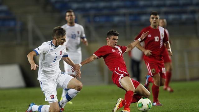 Gibraltar hold Slovakia to memorable draw on debut
