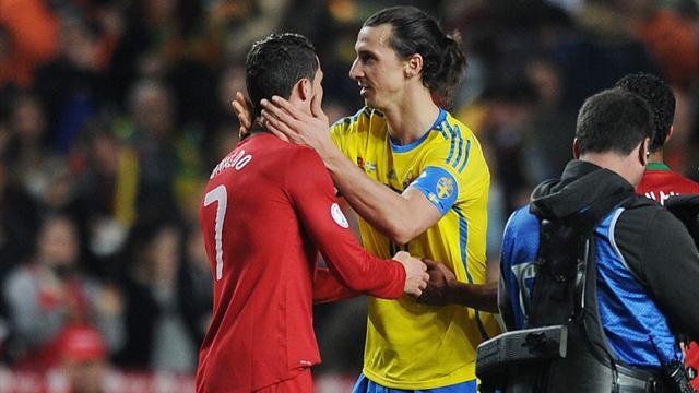 Ronaldo bat Zlatan par K.-O.