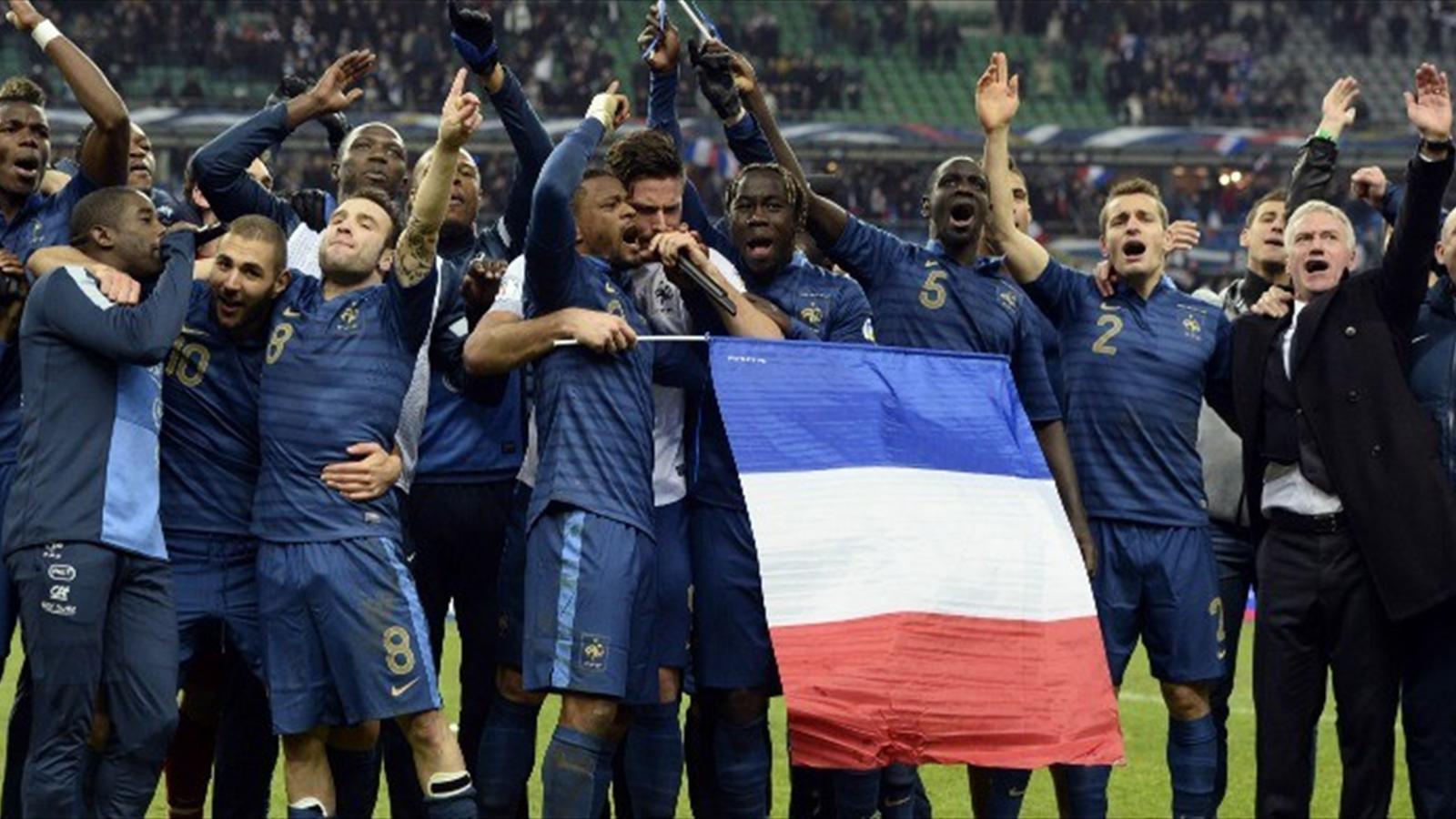 La france qualifi e pour la coupe du monde 2014 apr s - Qualification coupe de monde afrique ...