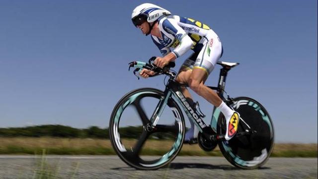 Русский велогонщик «Катюши» Лагутин одержал победу 8-ой этап «Вуэльты»