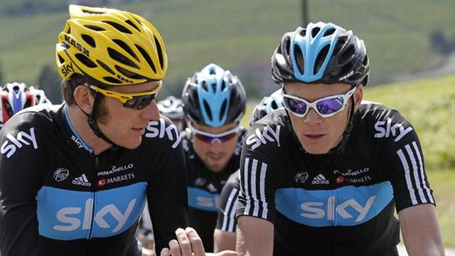 Froome 'struggled to trust Wiggins' at Tour