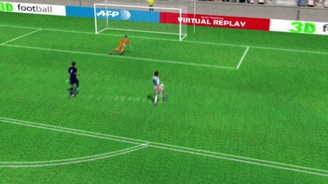 Super azione di Yaya Tourè, poi gol di Aguero