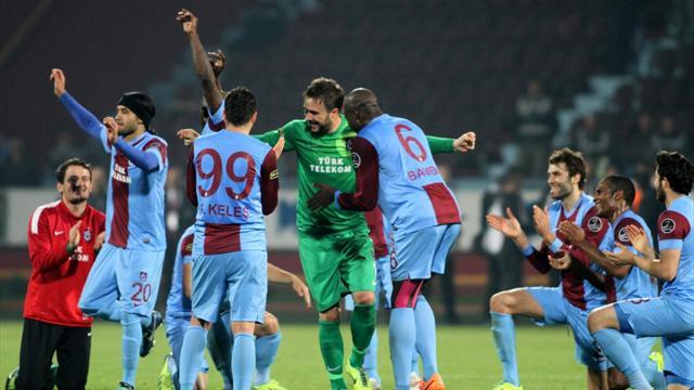 Trabzonspor-Eskişehirspor maç özeti