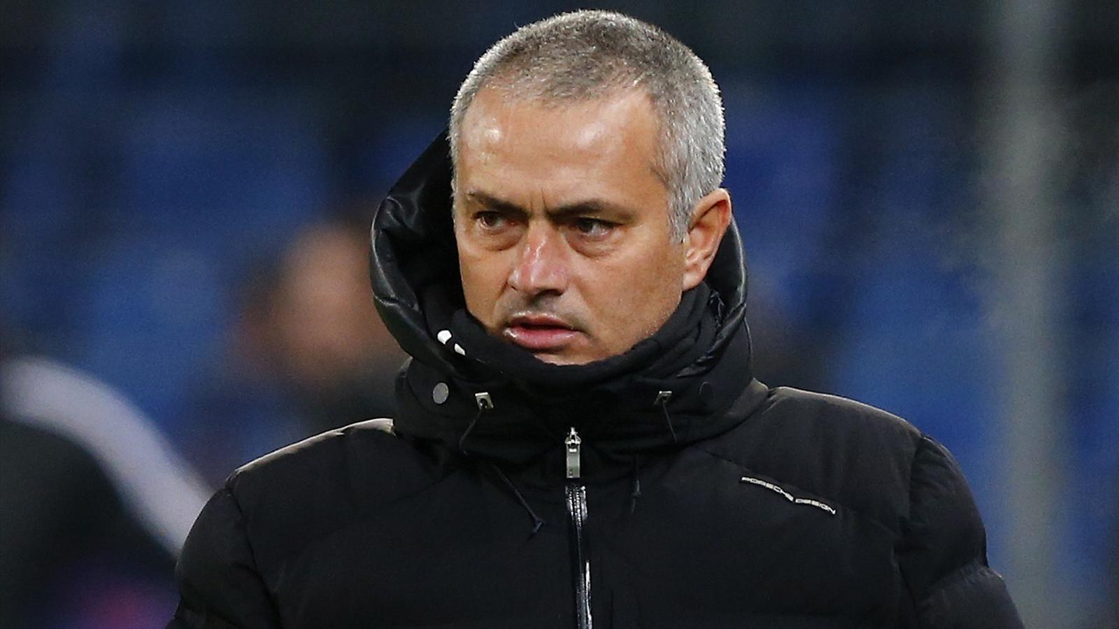 Jose mourinho after the basel defeat reuters