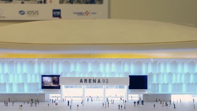 Racing-Métro: La construction de l'Arena 92 enfin lancée
