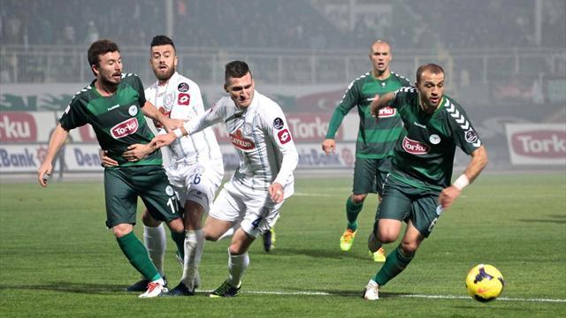 Torku Konyaspor'dan altın değerinde 3 puan