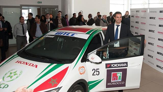 Bennani proud to race 'Moroccan' Honda
