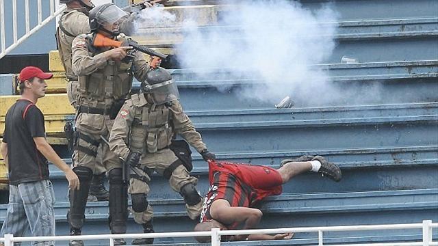 FIFA pledge no repeat of Brazil fan violence