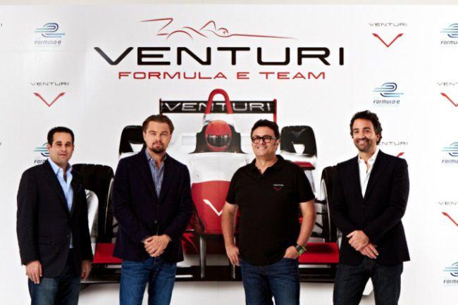 Leonardo DiCaprio s'est associé à Gildo Pallanca Pastor pour lancer la Venturi Grand Prix Team.