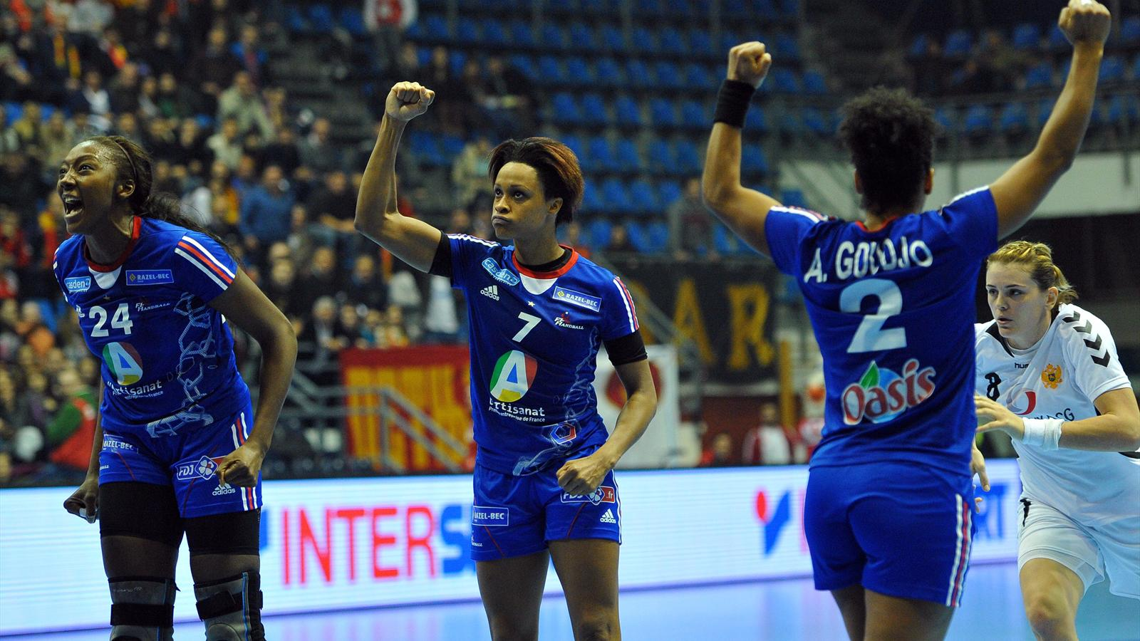 La france encha ne une quatri me victoire en quatre matches contre le mont n gro 17 16 - Coupe du monde handball 2013 ...