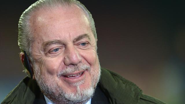 De Laurentiis: 'Scudetto? Gli striscioni anti-Juve parlano più chiaro di me'