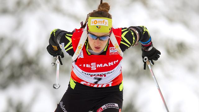 Biathlon coupe du monde grand bornand la france - Classement coupe du monde de biathlon ...