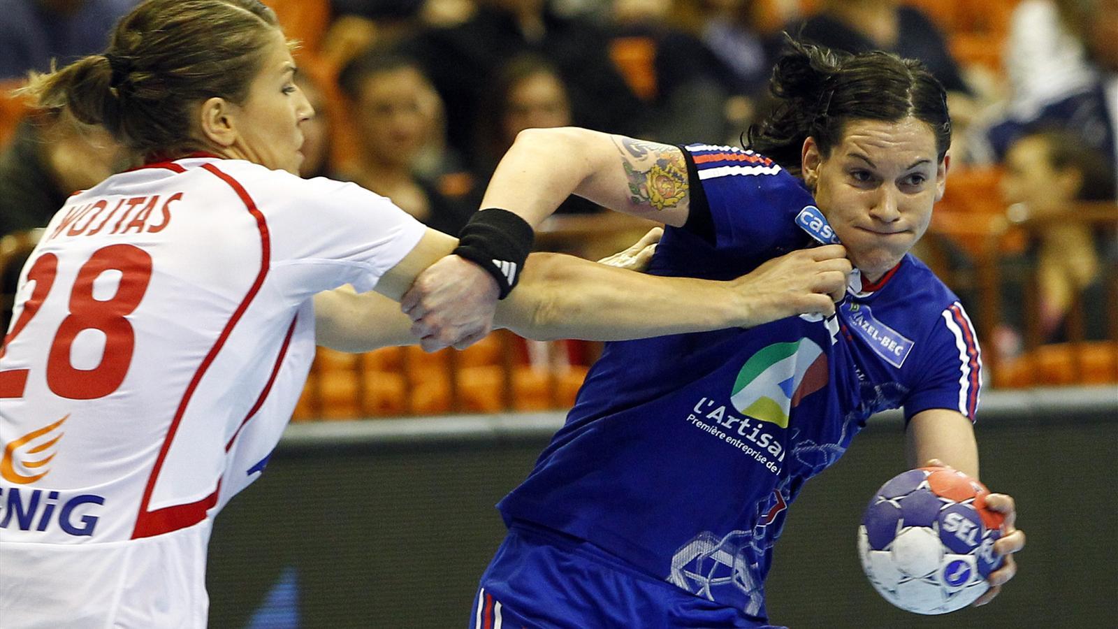 Handball mondial f minin la france limin e en quarts de finale par la pologne 21 22 - Coupe du monde handball 2013 ...