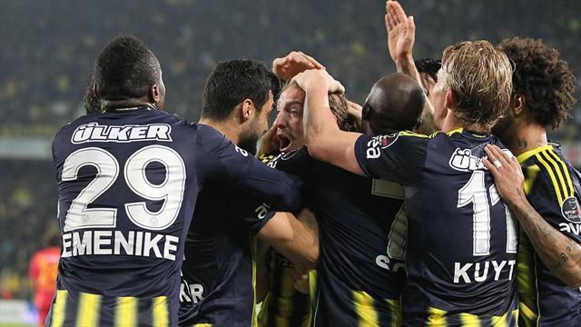 Fenerbahçe son dakikaları sevdi