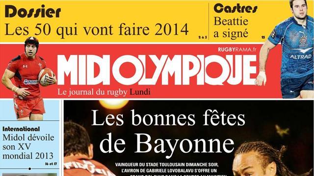 Sommaire Midi Olympique - Les bonnes fêtes de Bayonne