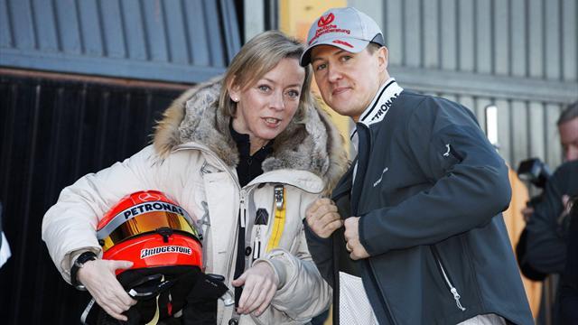 """Pour Schumacher, il y a des """"signes encourageants"""" et de la confiance dans son clan"""
