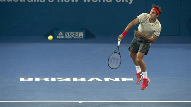 Federer estrena el 2014 con buen pie