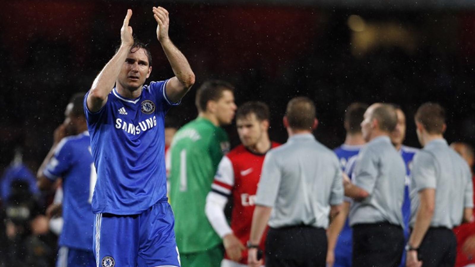 Chelsea midfielder Frank Lampard (AFP)