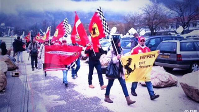 Schumacher : Un millier de personnes attendues à Grenoble