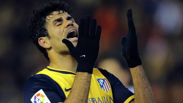 FOOTBALL 2013 Atletico Madrid - Diego Costa