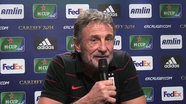 Guy Novès satisfait de la victoire face aux Saracens