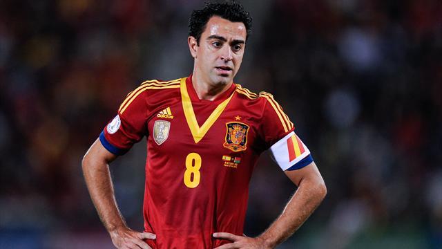 Xavi Hernandez ist Kapitän der spanischen Nationalelf und des FC Barcelona