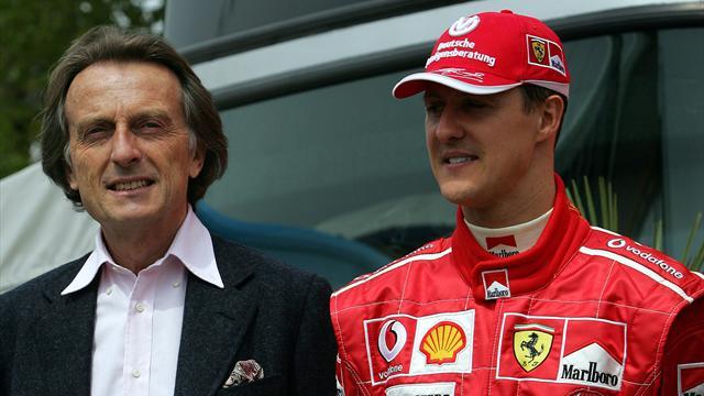 """Montezemolo ricorda Schumacher: """"La nostra forza è stata l'unità della squadra"""""""