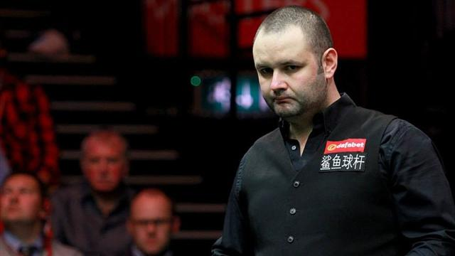 Stephen Maguire crashes out at Crucible