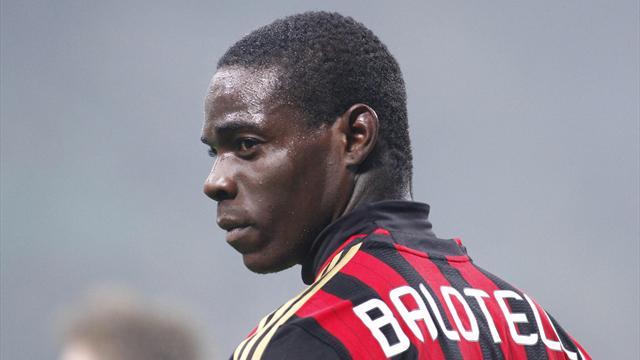 2013-14 Serie A, Milan, Mario Balotelli (AP/LaPresse)