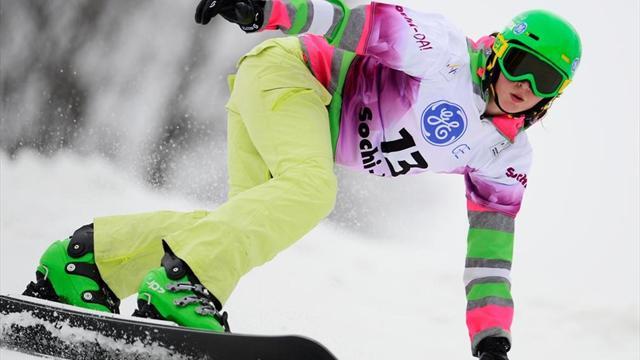 Заварзина взяла золото на этапе Кубка мира по сноуборду в Южной Корее