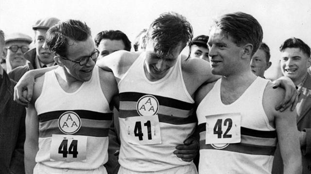 Roger Bannister First Four Minute Miler Dies Aged 88 border=