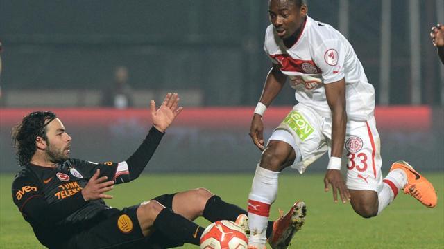 Antalyaspor - Galatasaray maç özeti ve golleri