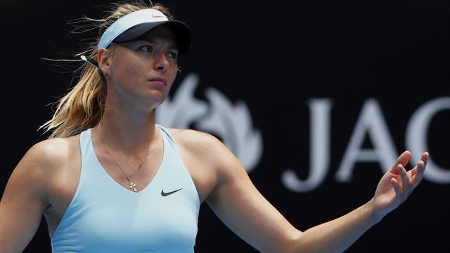 Cibulkova shocks Sharapova, Halep overcomes Jankovic
