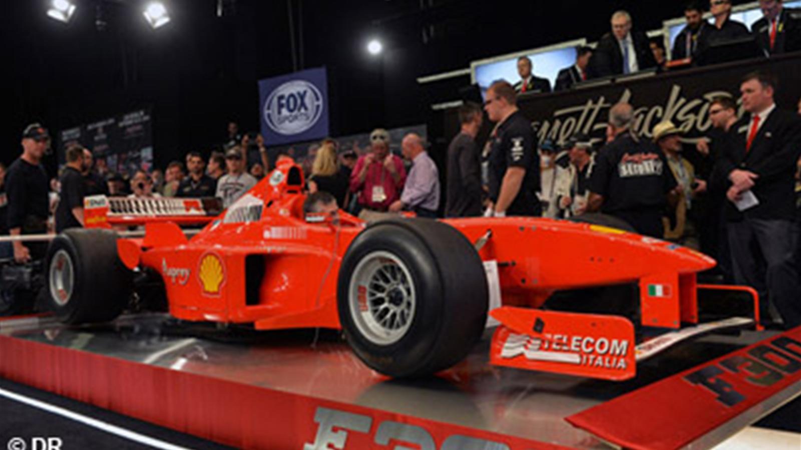 Une ancienne ferrari de schumacher vendue aux ench res formule 1 eurosport - Formule vitesse de coupe ...