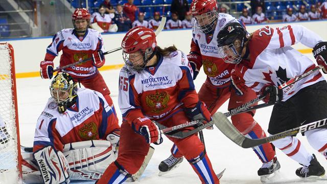 Объявлен состав женской хоккейной сборной