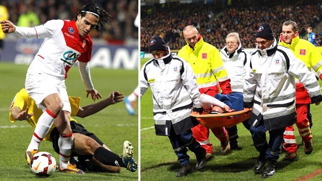Monaco confirm Falcao ACL injury, Brazil 2014 hopes fade