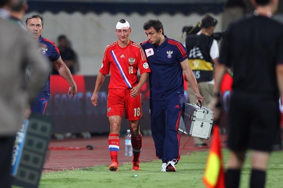 Хорватский футбольный союз оштрафован на100 тыс. евро из-за беспорядков болельщиков