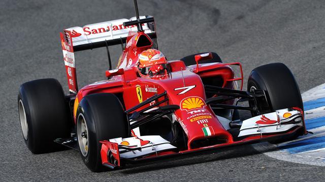 Ferrari F1 2014 F1 2014 - essais jerez