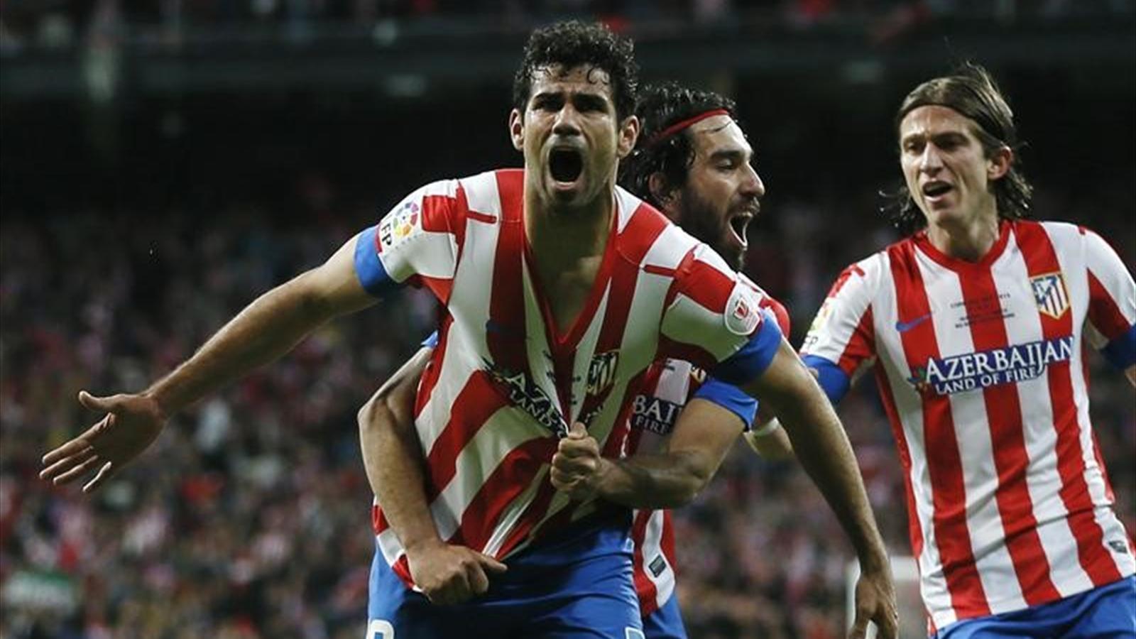 Atletico Madrid'e kötü haber! Diego Costa sakatlandı!